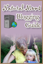 natural moms guide to blogging