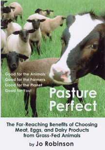 Pasture Perfect by Jo Robinson - benefits of grass fed